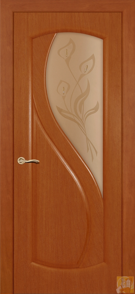 Двери межкомнатные цвет тмный анегри